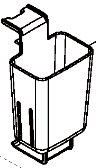 象印部品:コードバスケット/BM272043L-01布団乾燥機用〔85g〕〔メール便対応可〕
