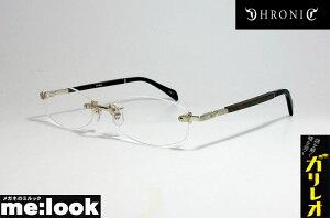 CHRONIC クロニックガリレオモデル 福山モデル眼鏡 メガネ フレームCH046-6 サイズ55 度付可シルバー 縁無し