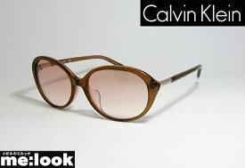 CK Calvin KleinカルバンクラインサングラスCK4343SA-201-55クリアブラウン