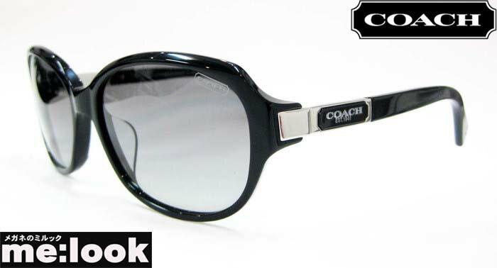 COACH コーチサングラスHC8039F-5002/11ブラック