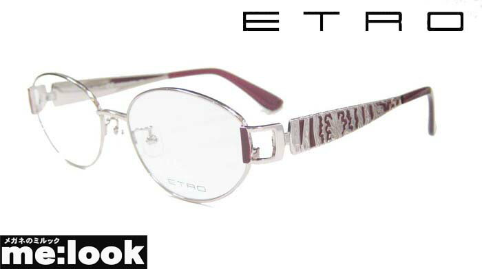ETRO エトロレディースメガネ フレームET2503J-663-54 度付可ピンク