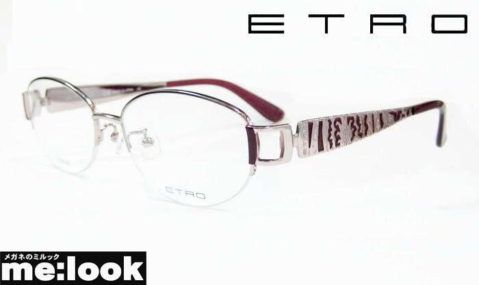 ETRO エトロレディースメガネ フレームET2504J-663-53 度付可ピンク