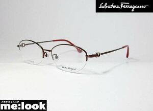 FERRAGAMO フェラガモ レディース眼鏡 メガネ フレームSF2537A-603-52 バーガンディ ワインASIAN FIT アジアンフィット