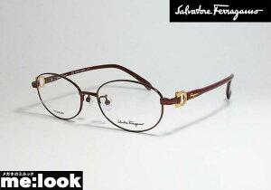 FERRAGAMO フェラガモ レディース眼鏡 メガネ フレームSF2543RA-603-52 度付可 バーガンディ ワイン