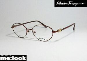 FERRAGAMO フェラガモ レディース眼鏡 メガネ フレームSF2555RA-603-52 度付可 バーガンディ ワイン