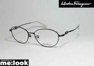 FERRAGAMO フェラガモ レディース眼鏡 メガネ フレームSF2557A-001-54 ブラックASIAN FIT アジアンフィット