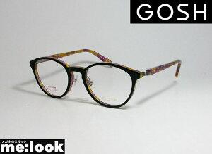 GOSH ゴッシュクラシック ラウンド ボストンレディース 眼鏡 メガネ フレームGO944-1-48 度付可 ブラック