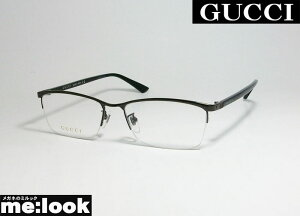 GUCCI グッチ眼鏡 メガネ フレームGG0856OJ-001-56 ASIAN FITガンメタ ブラック