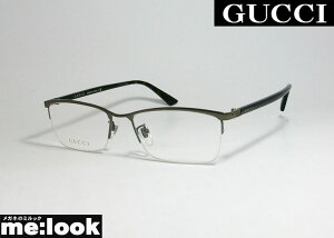 GUCCI グッチ眼鏡 メガネ フレームGG0856OJ-003-56 ASIAN FITガンメタ ブラウンデミ
