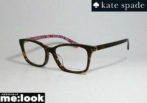 kate spade ケイトスペード レディースクラシック ボストン眼鏡 メガネ フレームREBEKAH/F-086 サイズ53 度付可ブラウンデミ