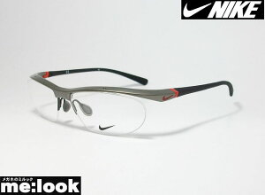 NIKE ナイキVORTEX ボルテックス軽量 スポーツ 眼鏡 メガネ フレーム7070/2-035-57度付可 グレイ