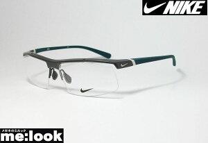 NIKE ナイキVORTEX ボルテックス軽量 スポーツ 眼鏡 メガネ フレーム7071/3-069-59度付可 ガンメタ