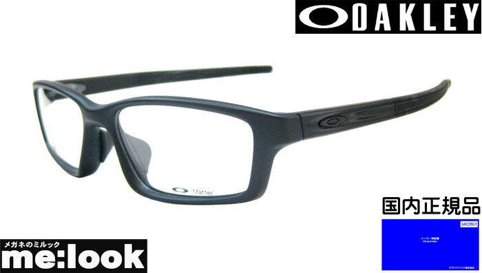 OAKLEY オークリーオールブラックメガネ フレームCROSSLINK PITCHクロスリンク ピッチOX8041-BK 度付可サテンブラック交換テンプル無し※8041-01