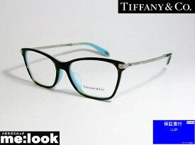 TIFFANY&CO ティファニーレディース 眼鏡 メガネ フレームTF2158BF-8134-54 度付可ブラウンデミ/ターコイズ/シルバー