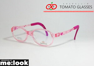 TOMATO GLASSES トマトグラッシーズ安全 安心 軽量 柔らかいキッズ Jr ジュニア 子供用眼鏡 メガネ フレームTKAC14-CPKCPK-45クリアピンク