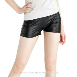 To dance clothes and an inner! Fake leather-like spats short pants [sn7501]/ me me dance clothes DANCE stage clothes showy flat hip-hop short pants show Bakery