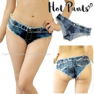 Super microhot pants / me me dance DANCE stage clothes showy flat hip-hop short pants show Bakery