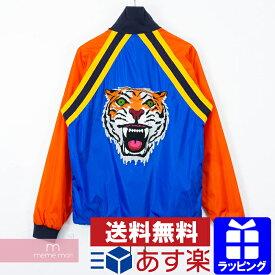 17c5d6fff1f3 GUCCI 2018SS Tiger Patch Street Style Jacket 494889 Z700C グッチ タイガーパッチストリート スタイルジャケット トラック