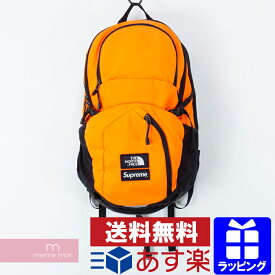 Supreme×THE NORTH FACE 2016AW Pocono Backpack シュプリーム×ノースフェイス ポコノバックパック リュック バッグ かばん オレンジ 【190609】 プレゼント ギフト