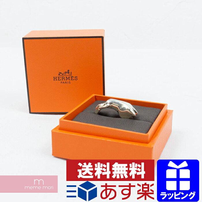 【全品12%OFFクーポン配布中!5/26まで】HERMES Chaine d'Ancre Twist Ring エルメス シェーヌダンクル ツイストリング 指輪 シルバー silver925 サイズ52(11号) 父の日 プレゼント ギフト【190515】