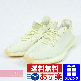 adidas YEEZY BOOST 350 V2 BUTTER F36980 アディダス イージーブースト350 V2 バター 靴 スニーカー オフホワイト サイズUS9(27cm) プレゼント ギフト【190414】【新古品】