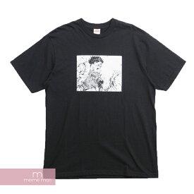 Supreme×AKIRA 2017AW Arm Tee シュプリーム×アキラ アームTシャツ 半袖カットソー ブラック プレゼント【200628】【gs】【新古品】