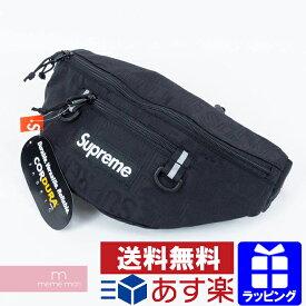 【超セール開催中!12/11まで】Supreme 2019SS Waist Bag シュプリーム ウエストバッグ ボディバッグ 鞄 ブラック プレゼント ギフト【190911】