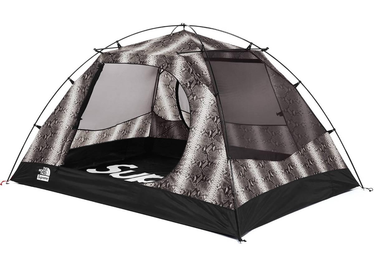 Supreme×THE NORTH FACE 2018SS Snakeskin Stormbreak 3 Tent NV21807I シュプリーム×ノースフェイス スネークスキンストームブレイク3テント ブラック