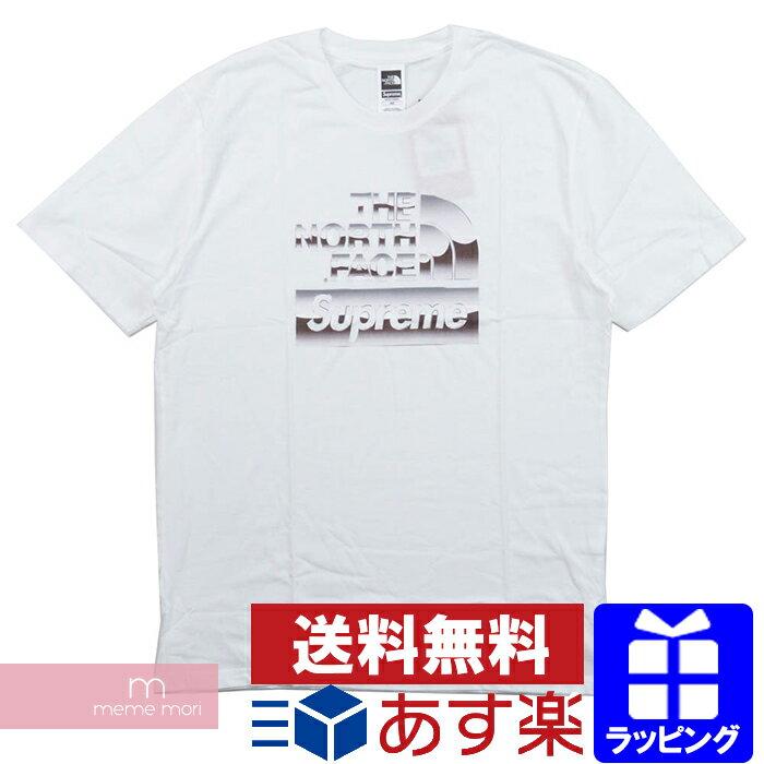Supreme×THE NORTH FACE 2018SS Metallic Logo Tee シュプリーム×ノースフェイス メタリックロゴTシャツ ホワイト