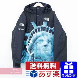 Supreme×THE NORTH FACE 2019AW Statue of Liberty Mountain Jacket シュプリーム×ノースフェイス スタチューオブリバティ マウンテンパーカー ジャケット 自由の女神 ブラック サイズS プレゼント【2002115】