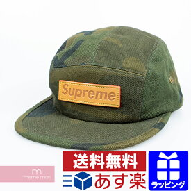 Supreme×Louis Vuitton 2017AW CASQ 5 Panel SP Camp Cap MP1875 シュプリーム×ルイヴィトン カーサ5パネルキャンプキャップ カモフラ 迷彩 総柄モノグラム 帽子 ボックスロゴ カーキ プレゼント ギフト【191114】