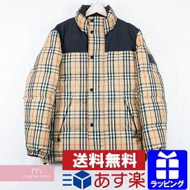 【20%OFF対象商品!】BURBERRY 2019AW Reversible Vintage Check Puffer Jacket 8018862 バーバリー リバーシブルヴィンテージチェックパフィージャケット ダウン ベージュ サイズS【me01】【200112】【me02】