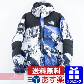 【タイムセール!22日まで】Supreme×THE NORTH FACE 2017AW Mountain Baltoro Jacket シュプリーム×ノースフェイス バルトロ 雪山ダウンジャケット ホワイト×ブルー サイズM プレゼント ギフト【200112】