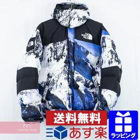 【タイムセール!22日まで】Supreme×THE NORTH FACE 2017AW Mountain Baltoro Jacket ND91701I シュプリーム×ノースフェイス マウンテンバルトロジャケット 雪山ジャケット ダウンブルゾン ホワイト×ブルー サイズM【200113】