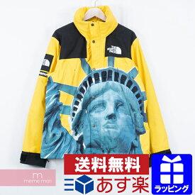 Supreme×THE NORTH FACE 2019AW Statue of Liberty Mountain Jacket シュプリーム×ノースフェイス スタチューオブリバティ マウンテンパーカー ジャケット 自由の女神 イエロー サイズM【200117】