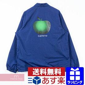 Supreme 2019SS Apple Coaches Jacket シュプリーム アップルコーチジャケット クラシックロゴ スナップボタン ネイビー サイズL 【200215】