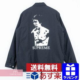 Supreme 2013AW Bruce Lee Coaches Jacket シュプリーム ブルースリーコーチジャケット バックプリント ブラック サイズL 【200219】
