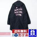ASSC Anti Social Social Club×Alpha 2019AW Sinai Black Fishtail Parka アンチソーシャルソーシャルクラブ×アルフ…
