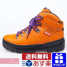 Supreme×Timberland 2018AW World Hiker Front Country Boot シュプリーム×ティンバーランド ワールドハイカーフロントカントリーブーツ GORE-TEX ダークオレンジ サイズUS8.5(26.5cm)【200514】【中古-A】