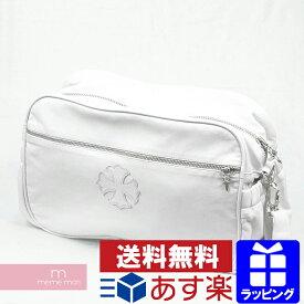 CHROME HEARTS LESTER BAG CH PLUS クロムハーツ ショルダーバッグ CHプラス レザー 鞄 ホワイト 【210123】【中古-B】【me04】