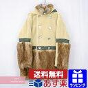 sacai 2019AW Faux Fur Hooded Coat 19-02115M サカイ フェイクファーフーデッドコート エコファー リメイク 再構築 …