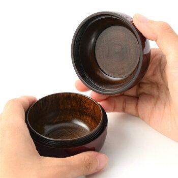 【ミニ骨壷】【手元供養】桜木現代蒔絵の本漆骨壷「こころシリーズ」奏(かなで)ボルドー