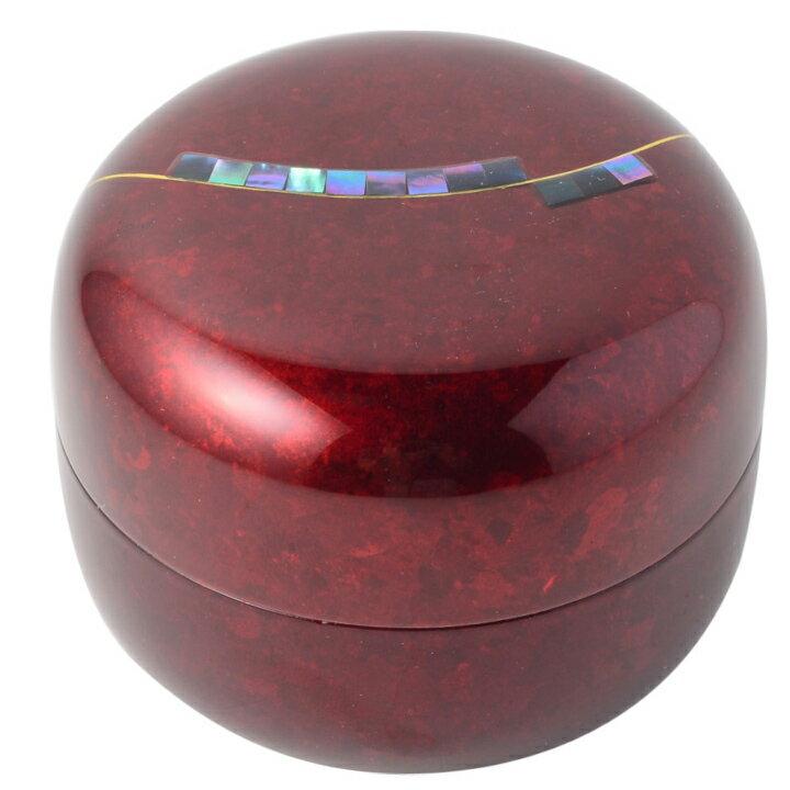 桜木現代蒔絵の本漆「こころシリーズ」ミニ骨壷 骨壺 骨壷 ミニ 手元供養 奏 かなで ボルドー