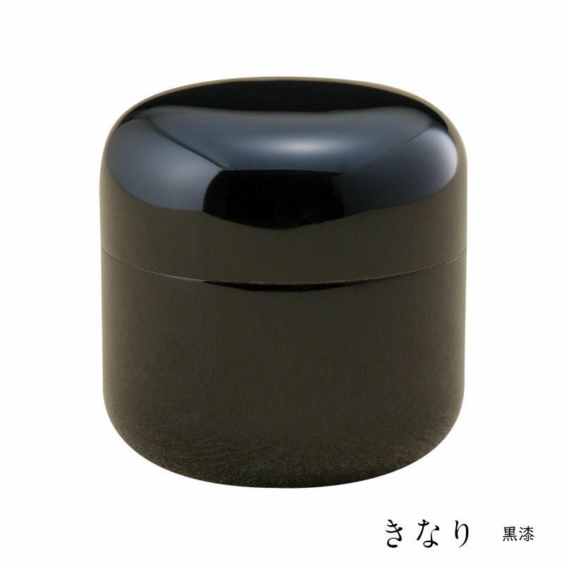 【ミニ骨壷】【手元供養】桜木大容量の本漆骨壷 「きなりシリーズ」黒漆 名入れ可