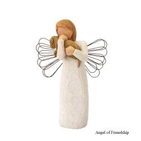 メモリアルオブジェ Angel of Friendship 〜愛しい天使そして友達〜 犬 Willow Tree ウィローツリー