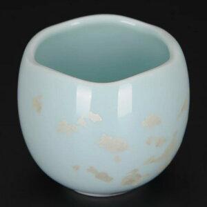 陶器 まるか ミントグリーン 茶器(茶湯器)