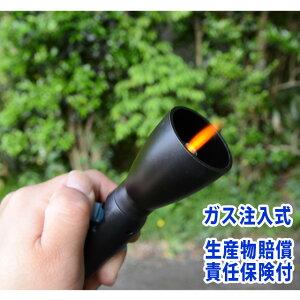 お線香用ライター 「ハンディターボ2」 ガス注入式 ターボライター お墓参り グッズ 線香 持ち運び 携帯 スリムタイプ 繰り返し使える 小さい