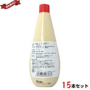 マヨネーズ 無添加 マクロビ オーサワの豆乳マヨ 500g×15本 業務用