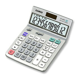 CASIO(カシオ計算機)【電卓】特大表示電卓 デスクタイプ 12桁 DF-120GT