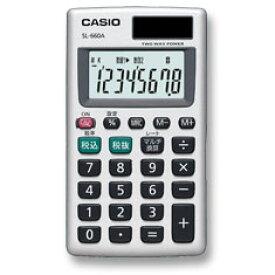 CASIO(カシオ計算機)【電卓】カードタイプ マルチ換算・税計算機能付き SL-660A
